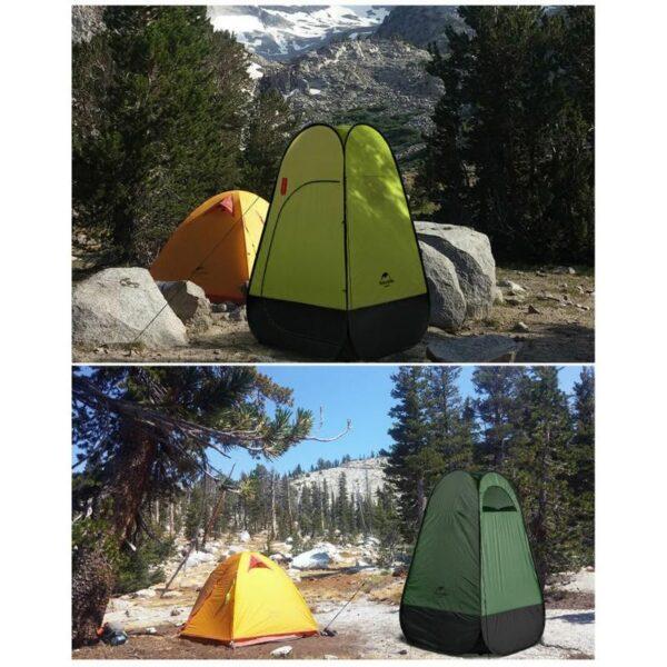 36941 - Мобильная кемпинговая палатка-душ/ туалет/ раздевалка Naturehike