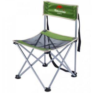 Складной походный стул Naturehike: водонепроницаемый нейлон 600D, сталь, нагрузка свыше 100 кг