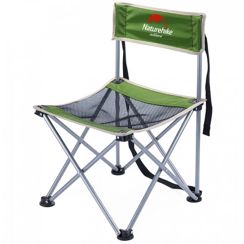 36995 - Складной походный стул Naturehike: водонепроницаемый нейлон 600D, сталь, нагрузка свыше 100 кг