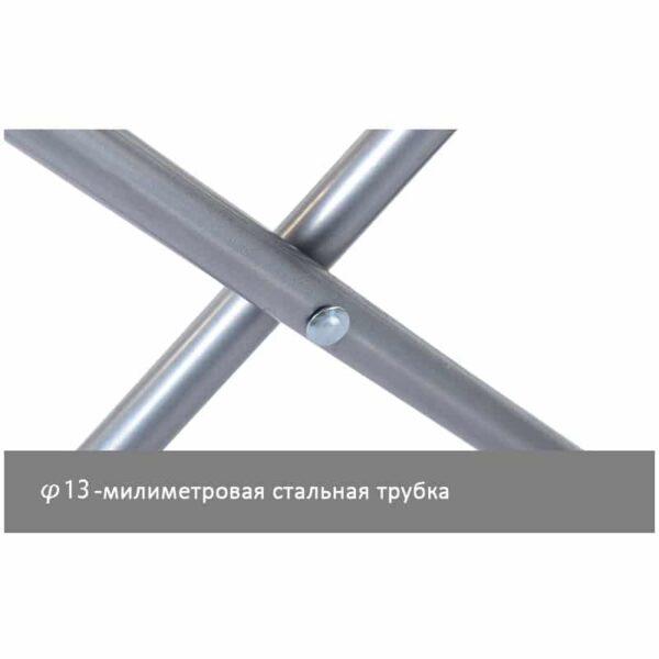 36996 - Складной походный стул Naturehike: водонепроницаемый нейлон 600D, сталь, нагрузка свыше 100 кг