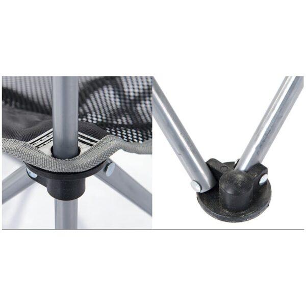 36999 - Складной походный стул Naturehike: водонепроницаемый нейлон 600D, сталь, нагрузка свыше 100 кг