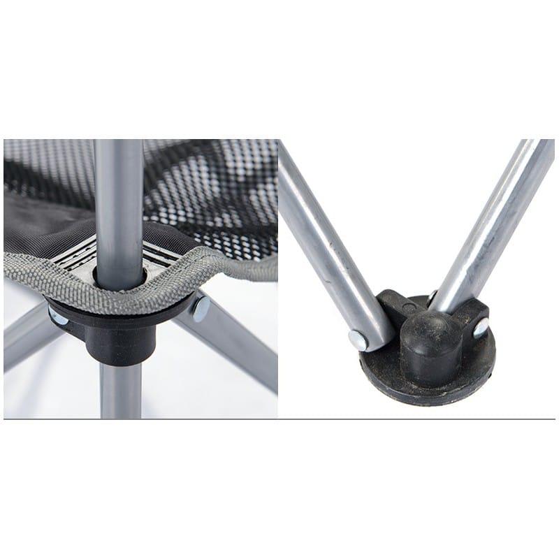 Складной походный стул Naturehike: водонепроницаемый нейлон 600D, сталь, нагрузка свыше 100 кг 212919
