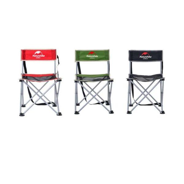 37002 - Складной походный стул Naturehike: водонепроницаемый нейлон 600D, сталь, нагрузка свыше 100 кг