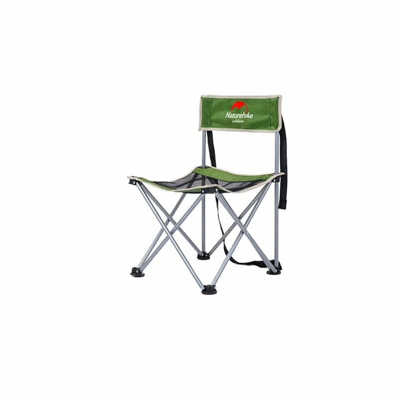 Складной походный стул Naturehike: водонепроницаемый нейлон 600D, сталь, нагрузка свыше 100 кг 212923