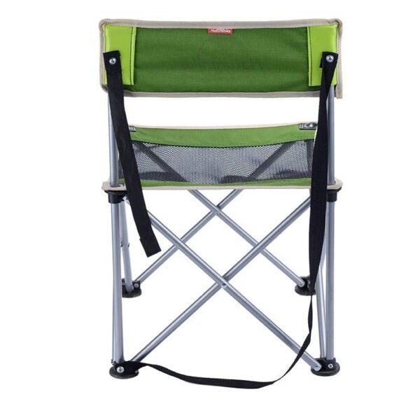 37005 - Складной походный стул Naturehike: водонепроницаемый нейлон 600D, сталь, нагрузка свыше 100 кг