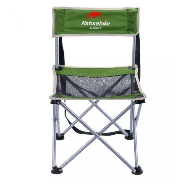 37011 - Складной походный стул Naturehike: водонепроницаемый нейлон 600D, сталь, нагрузка свыше 100 кг