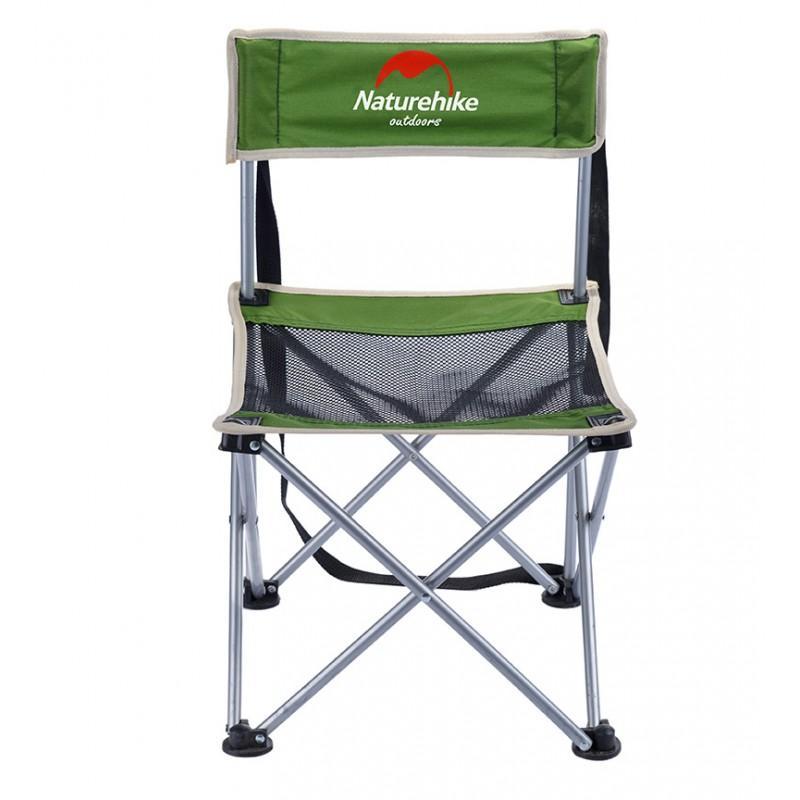 Складной походный стул Naturehike: водонепроницаемый нейлон 600D, сталь, нагрузка свыше 100 кг 212931