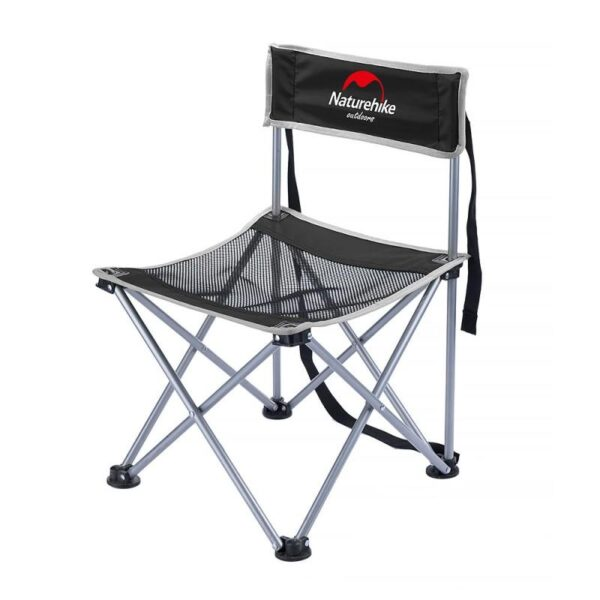 37012 - Складной походный стул Naturehike: водонепроницаемый нейлон 600D, сталь, нагрузка свыше 100 кг