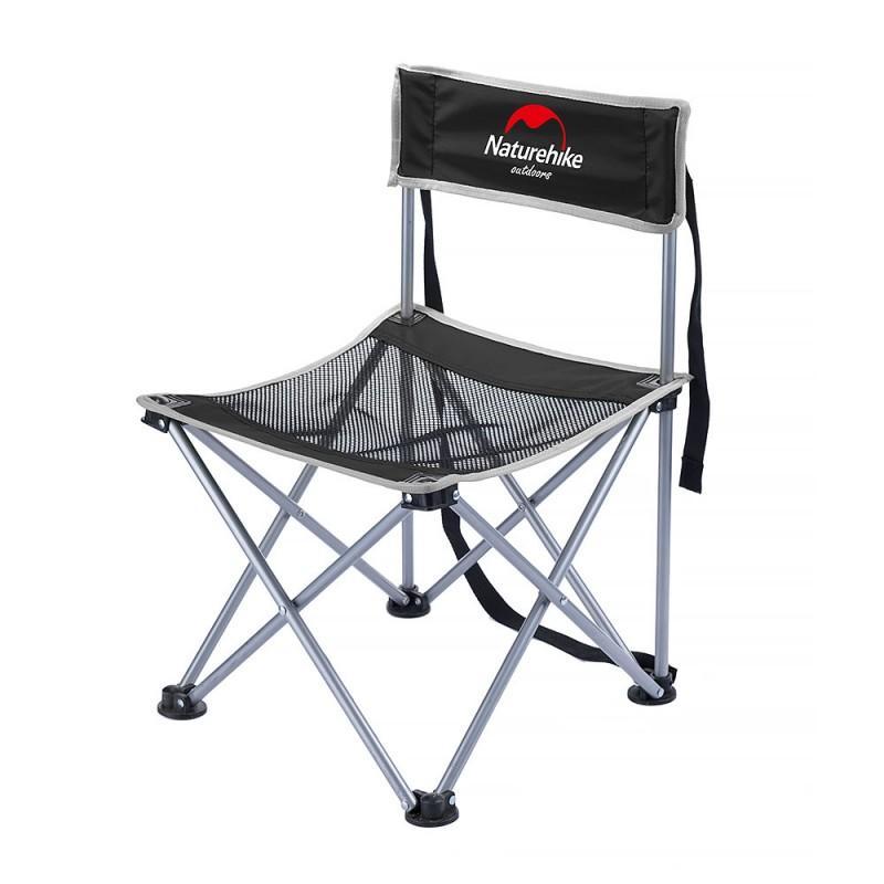 Складной походный стул Naturehike: водонепроницаемый нейлон 600D, сталь, нагрузка свыше 100 кг 212932