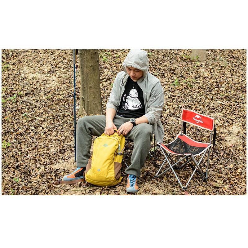 Складной походный стул Naturehike: водонепроницаемый нейлон 600D, сталь, нагрузка свыше 100 кг 212936