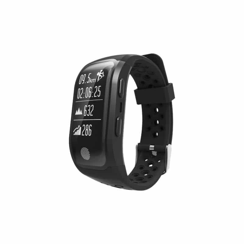 Смарт-часы (фитнес-браслет) S908 с GPS-трекером: IP68, шагомер, пульсометр, Bluetooth 4.0, поддержка IOS, Android, уведомления 212937