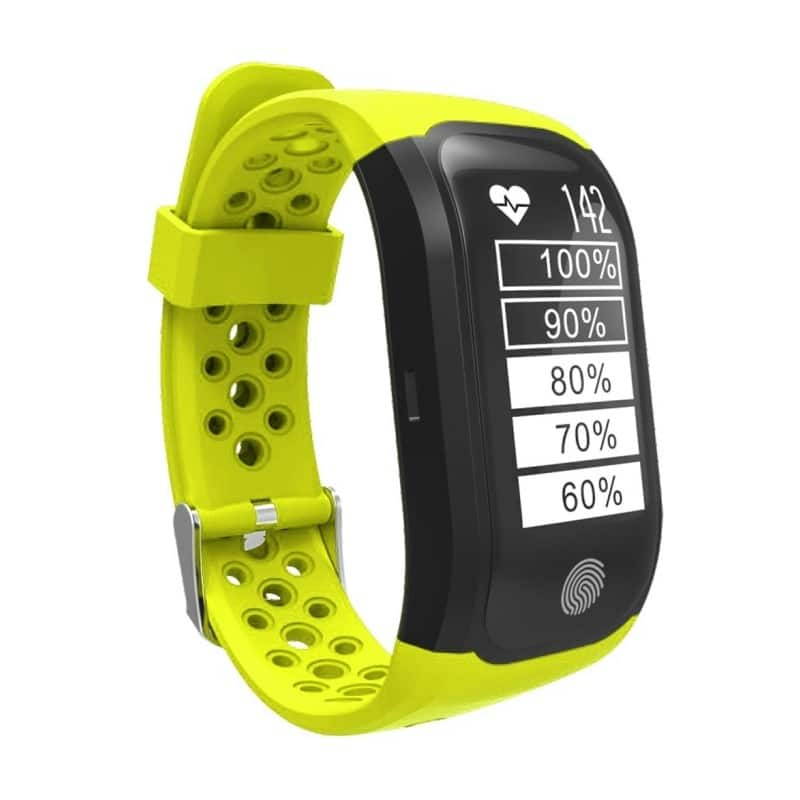 Смарт-часы (фитнес-браслет) S908 с GPS-трекером: IP68, шагомер, пульсометр, Bluetooth 4.0, поддержка IOS, Android, уведомления 212951