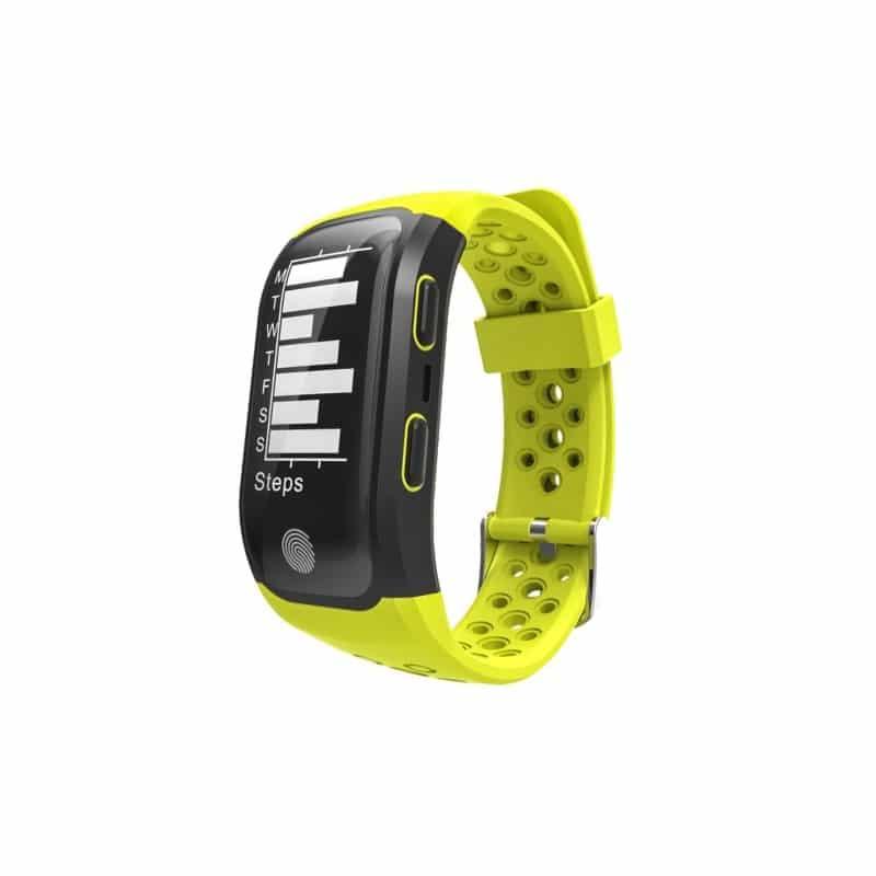 Смарт-часы (фитнес-браслет) S908 с GPS-трекером: IP68, шагомер, пульсометр, Bluetooth 4.0, поддержка IOS, Android, уведомления 212952
