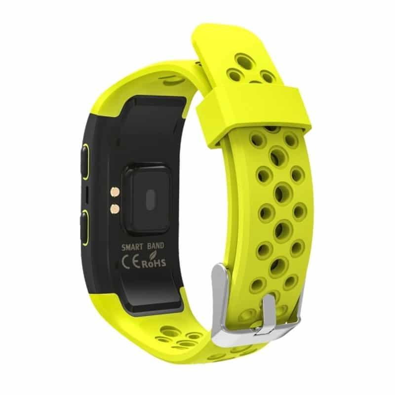 Смарт-часы (фитнес-браслет) S908 с GPS-трекером: IP68, шагомер, пульсометр, Bluetooth 4.0, поддержка IOS, Android, уведомления 212954