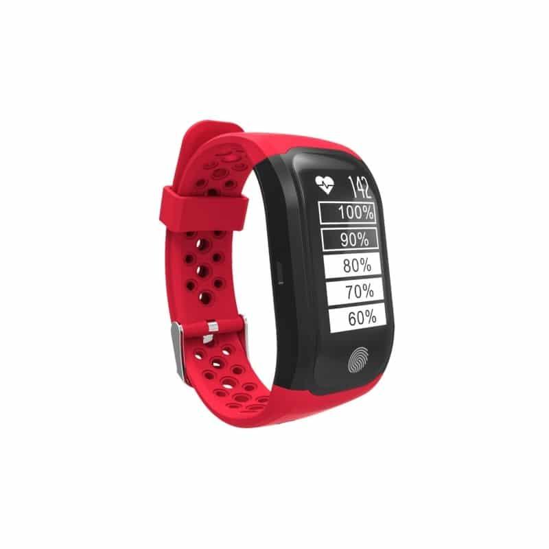 Смарт-часы (фитнес-браслет) S908 с GPS-трекером: IP68, шагомер, пульсометр, Bluetooth 4.0, поддержка IOS, Android, уведомления 212955