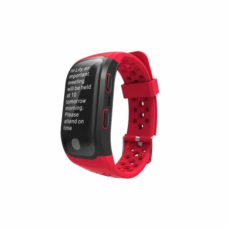 Смарт-часы (фитнес-браслет) S908 с GPS-трекером: IP68, шагомер, пульсометр, Bluetooth 4.0, поддержка IOS, Android, уведомления 212956