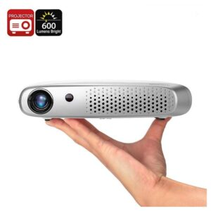 DLP-проектор Gigxon G-602 – 600 Lumen, Wi-Fi, 1200×800, ОС Android, до 200 дюймов, 2 x HDMI, 2 x USB