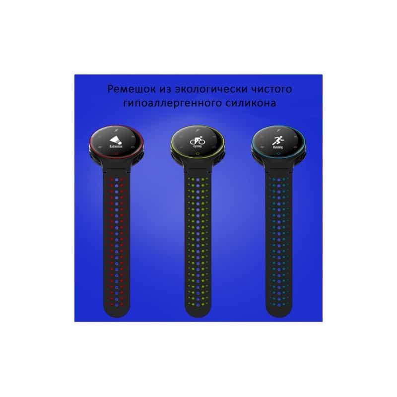 Умные часы X2: OLED-дисплей, IP68, Bluetooth, шагомер, пульсометр, измерение давления, синхронизация со смартфоном (звонки, смс) 213007