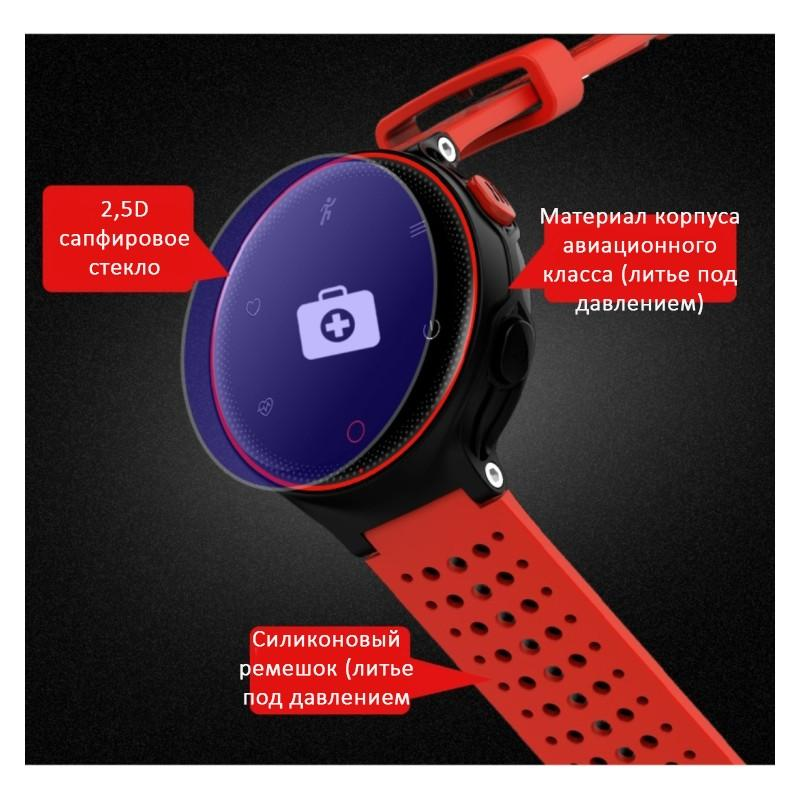 Умные часы X2: OLED-дисплей, IP68, Bluetooth, шагомер, пульсометр, измерение давления, синхронизация со смартфоном (звонки, смс) 213008