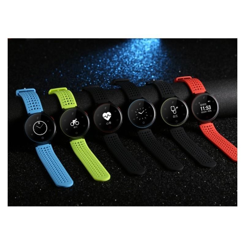 Умные часы X2: OLED-дисплей, IP68, Bluetooth, шагомер, пульсометр, измерение давления, синхронизация со смартфоном (звонки, смс) 213011