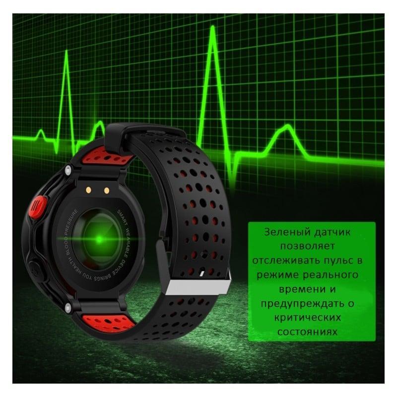 Умные часы X2: OLED-дисплей, IP68, Bluetooth, шагомер, пульсометр, измерение давления, синхронизация со смартфоном (звонки, смс) 213018