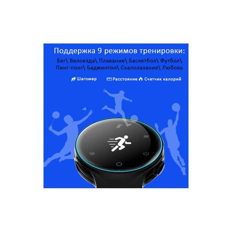 Умные часы X2: OLED-дисплей, IP68, Bluetooth, шагомер, пульсометр, измерение давления, синхронизация со смартфоном (звонки, смс) 213020