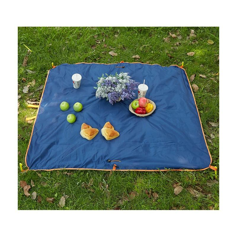 Универсальное водонепроницаемое покрывало-сумка Miscato для пляжа, пикника, прогулок с детьми 213052