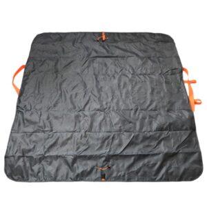 Универсальное водонепроницаемое покрывало-сумка Miscato для пляжа, пикника, прогулок с детьми
