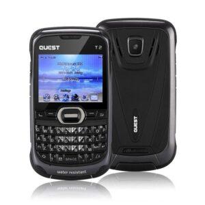 Недорогой мобильный телефон Quest T2 с клавиатурой – Bluetooth, GSM, Wi-Fi, Dual-IMEI, поддержка Micro SD 32 Гб, 1020 мАч