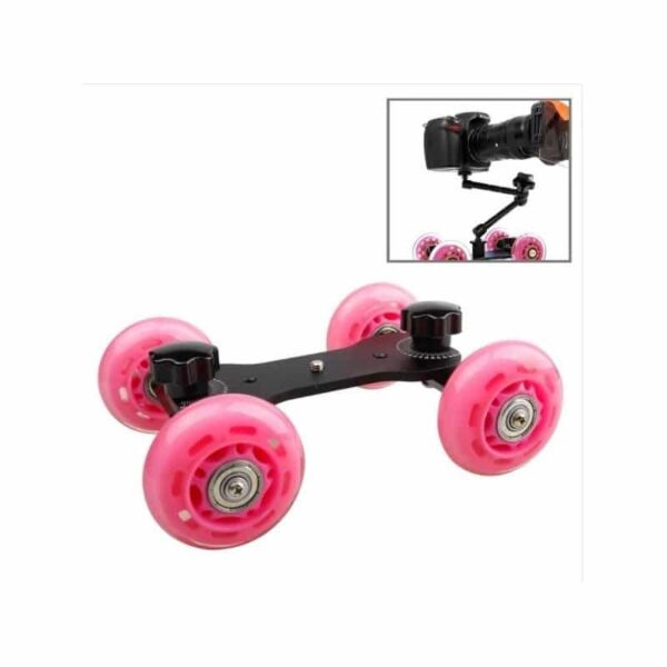 37269 - Компактный слайдер-трек Dolly Car DEBO для DSLR камеры/видеокамеры