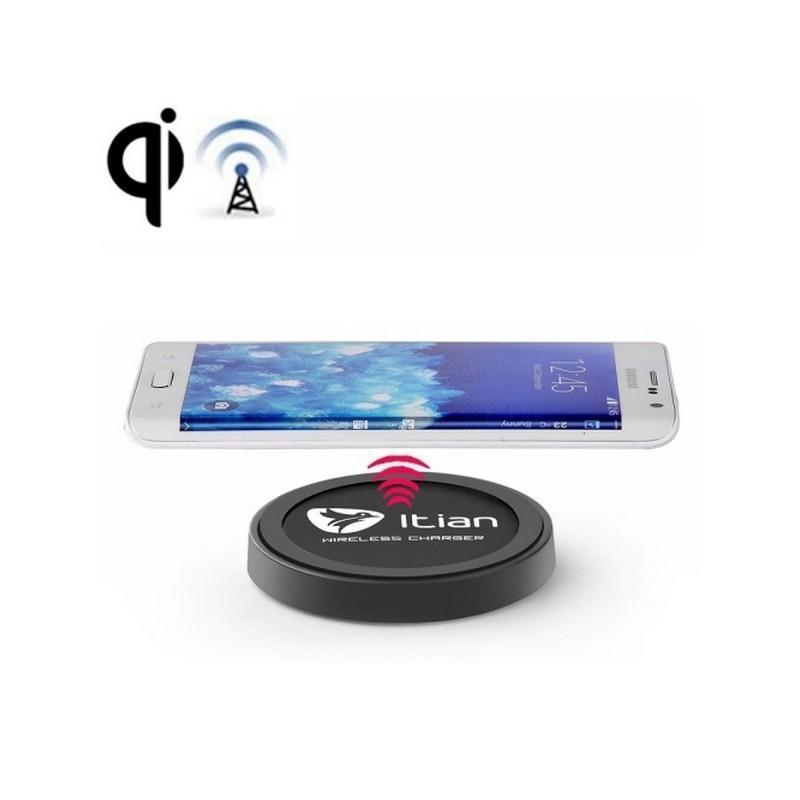 Беспроводное Qi зарядное устройство Itian Wireless Charger - Черный