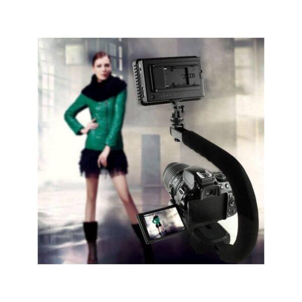37298 - C/U-образный стедикам PULUZ Kits - головка для штатива, крепление для телефона, мягкая ручка, интерфейс для света и микрофона