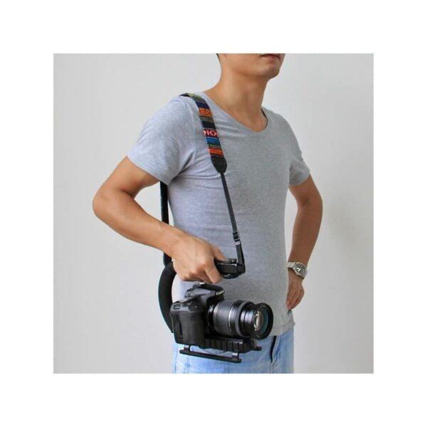 37299 - C/U-образный стедикам PULUZ Kits - головка для штатива, крепление для телефона, мягкая ручка, интерфейс для света и микрофона