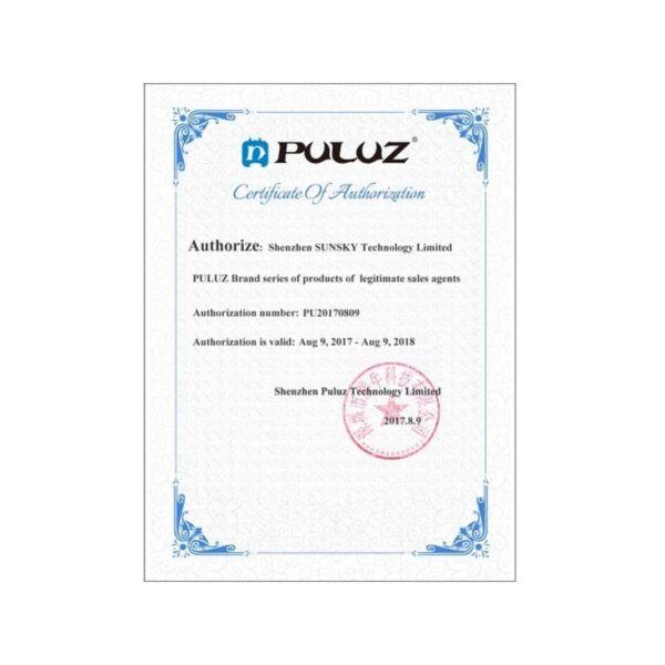 37301 - Портативный стабилизатор PULUZ C/U Shape - 1/4 дюйма, антискользящие накладки, мягкая рука, интерфейс для света