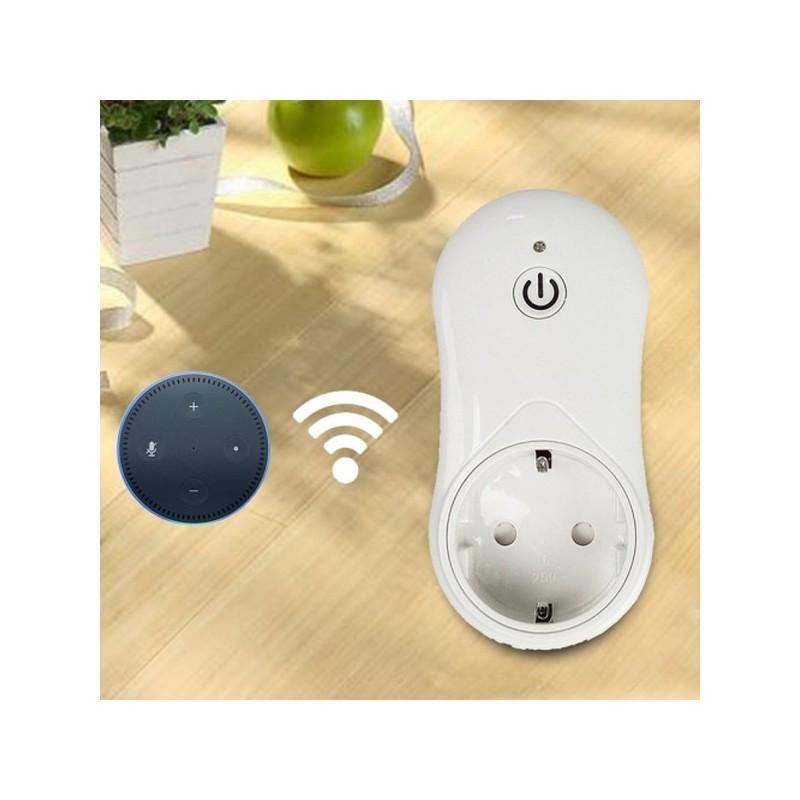 37314 - Умная Wi-Fi розетка Alexa - 16A, 2.4G, AC 100-240V, EU