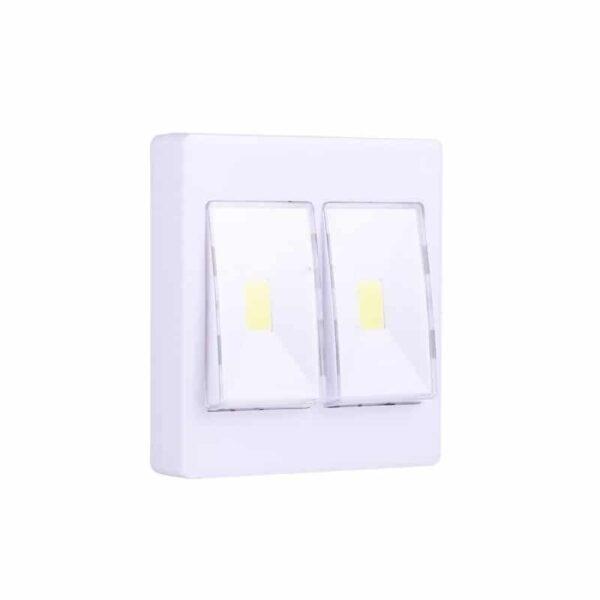 37322 - Настенный двойной светильник-ночник Double LED Switch