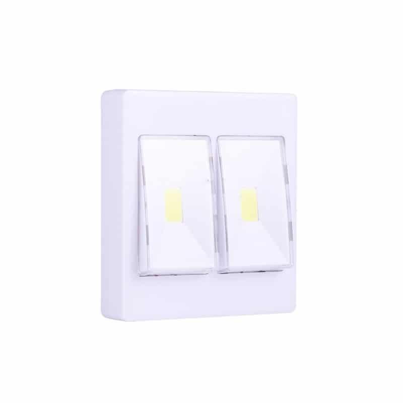 Настенный двойной светильник-ночник Double LED Switch 213167