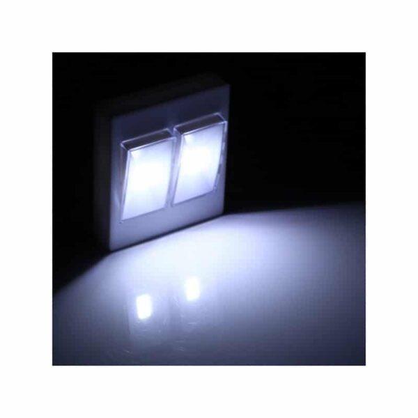 37326 - Настенный двойной светильник-ночник Double LED Switch