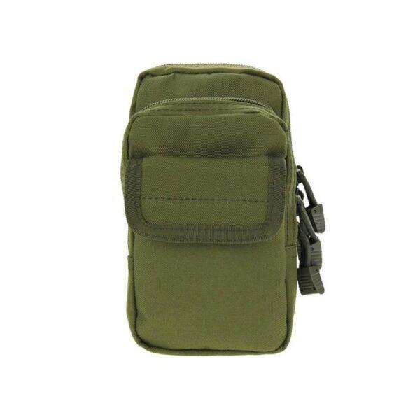 37337 - Многофункциональная сумка Waist Bag с тремя отделениями из плотного нейлона