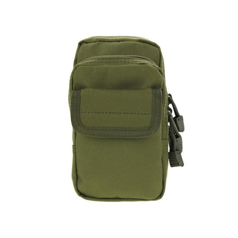 Многофункциональная сумка Waist Bag с тремя отделениями из плотного нейлона 213181