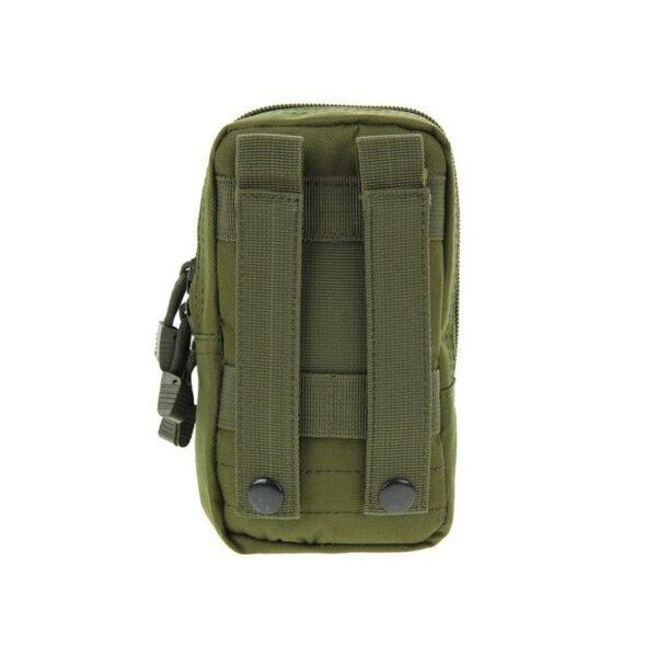 37338 - Многофункциональная сумка Waist Bag с тремя отделениями из плотного нейлона