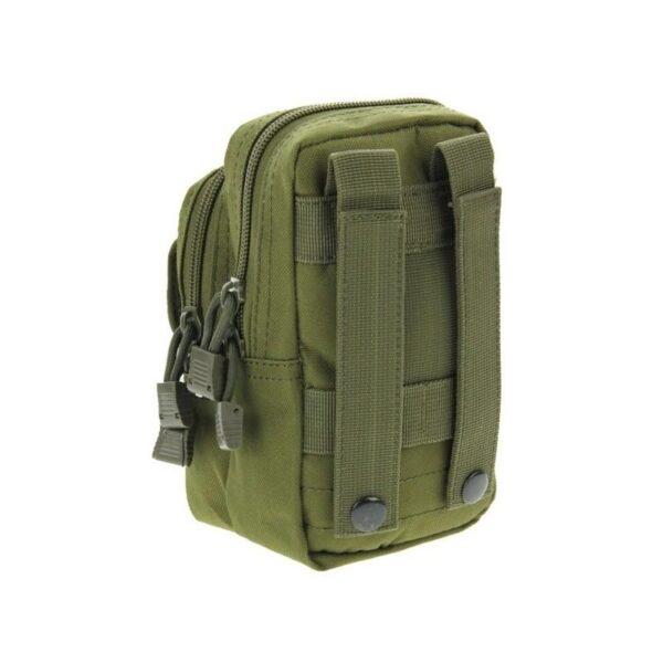 37340 - Многофункциональная сумка Waist Bag с тремя отделениями из плотного нейлона