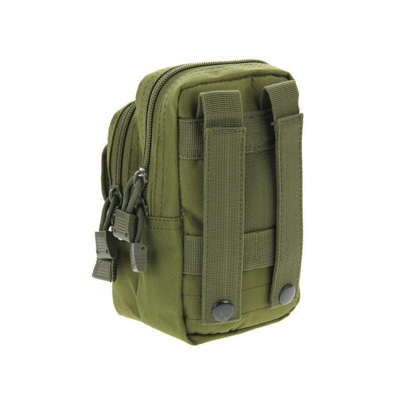 Многофункциональная сумка Waist Bag с тремя отделениями из плотного нейлона 213184
