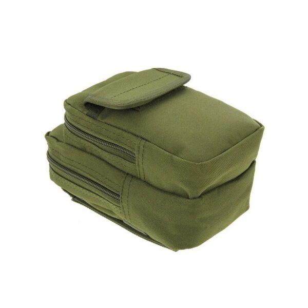 37341 - Многофункциональная сумка Waist Bag с тремя отделениями из плотного нейлона