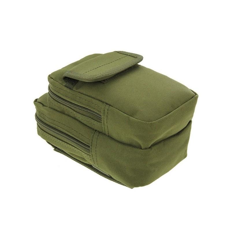 Многофункциональная сумка Waist Bag с тремя отделениями из плотного нейлона 213185