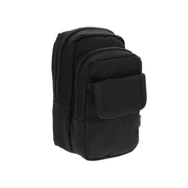 37343 - Многофункциональная сумка Waist Bag с тремя отделениями из плотного нейлона