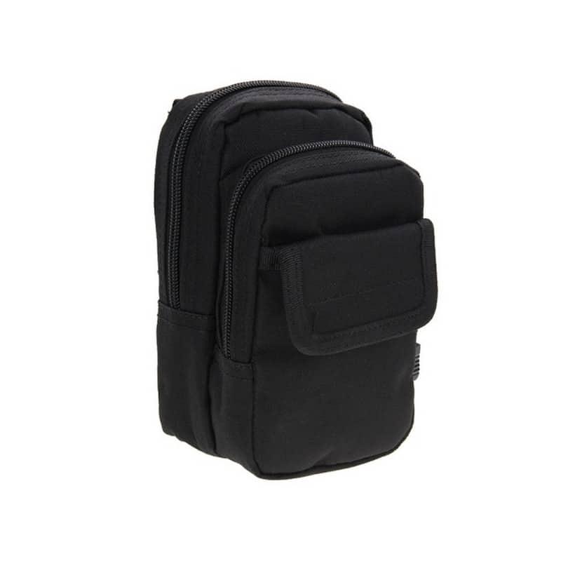 Многофункциональная сумка Waist Bag с тремя отделениями из плотного нейлона 213187