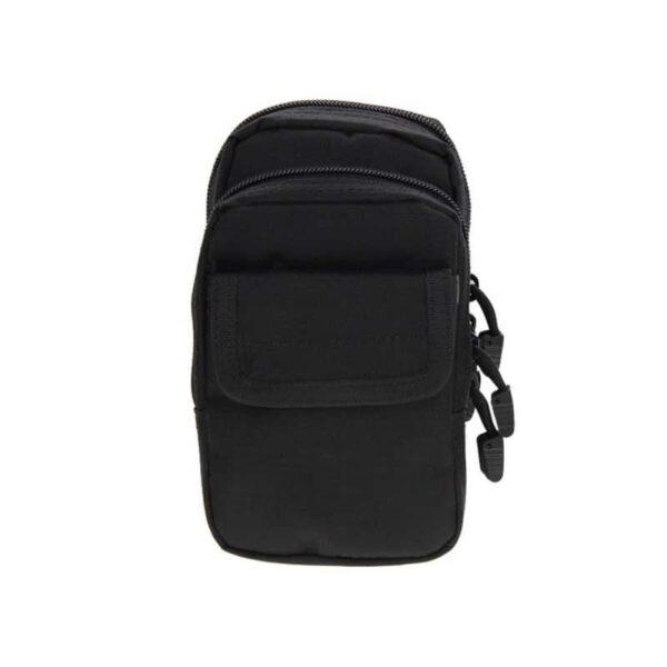 37344 - Многофункциональная сумка Waist Bag с тремя отделениями из плотного нейлона