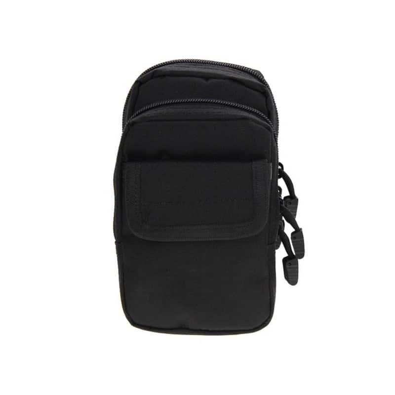 Многофункциональная сумка Waist Bag с тремя отделениями из плотного нейлона 213188
