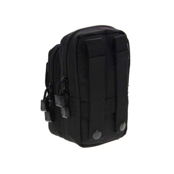 37347 - Многофункциональная сумка Waist Bag с тремя отделениями из плотного нейлона